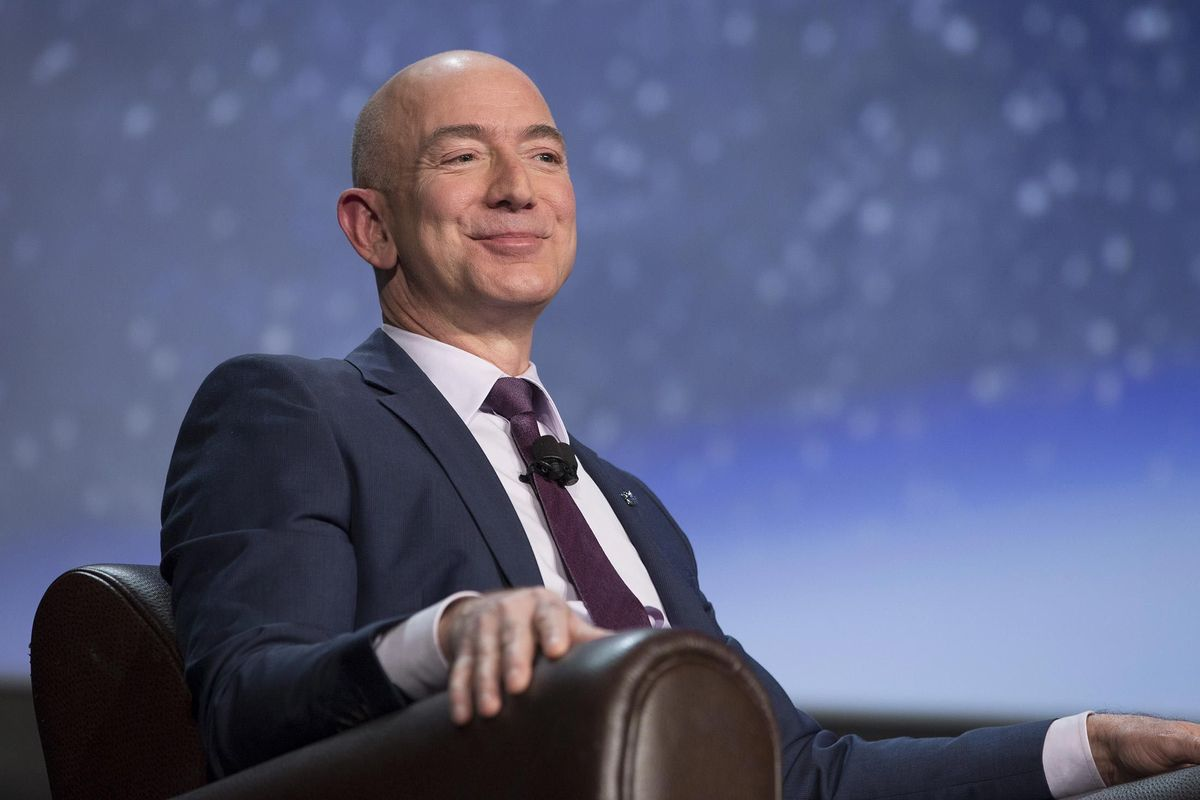 Pictures of the richest man on earth